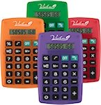 Slim Pocket Calculators